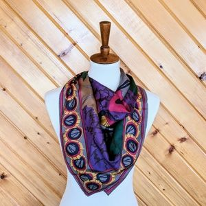 Perry Ellis Scarf in Butterfly Design